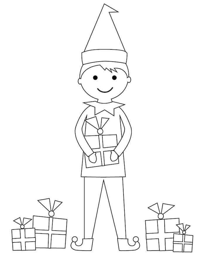 elf on the shelf coloring pages pdf | 100+ Printable Christmas Coloring Pages For Kids Of All Ages
